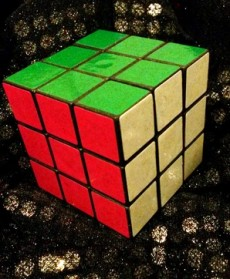 Rubik's cube-fake