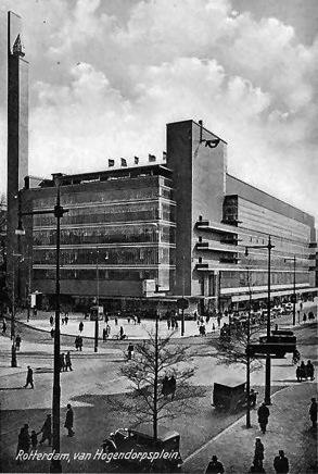 Bijenkorf_Rotterdam_1935