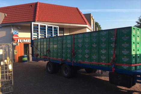 Truck of beer